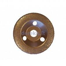 Universalus šlifavimo diskas su kietmetalio grūdeliais (smulkaus grubumo) Ø125, EDMA