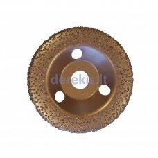 Universalus šlifavimo diskas su kietmetalio grūdeliais (vidutinio grubumo) Ø125, EDMA
