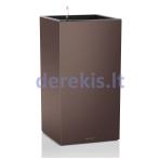 Vazonas su savaiminio drėkinimo sistema LECHUZA Canto column 40 espresso, 13657
