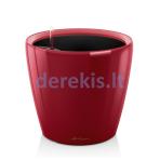 Vazonas su savaiminio drėkinimo sistema LECHUZA Classico Premium 21 Scarlet Red, 16027