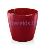 Vazonas su savaiminio drėkinimo sistema LECHUZA Classico Premium 70 Scarlet Red, 14629