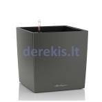 Vazonas su savaiminio drėkinimo sistema LECHUZA Cube Premium 50 Charcoal, 16563