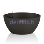 Vazonas su savaiminio drėkinimo sistema LECHUZA Cubeto Color 30 graphite black, 13832