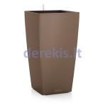 Vazonas su savaiminio drėkinimo sistema LECHUZA Cubico Color 30 Nutmeg, 13133