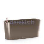 Vazonas su savaiminio drėkinimo sistema LECHUZA Delta Premium 20 Taupe, 15566