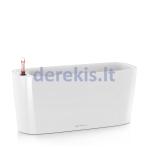 Vazonas su savaiminio drėkinimo sistema LECHUZA Delta Premium 20 White, 15560