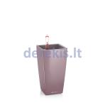 Vazonas su savaiminio drėkinimo sistema LECHUZA Mini Cubi Premium 9 violet, 18118