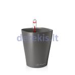 Vazonas su savaiminio drėkinimo sistema LECHUZA Mini Deltini Premium charcoal, 14949