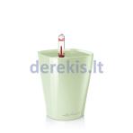 Vazonas su savaiminio drėkinimo sistema LECHUZA Mini Deltini Premium Mint Green, 14952