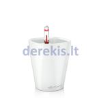 Vazonas su savaiminio drėkinimo sistema LECHUZA Mini Deltini Premium White, 14950