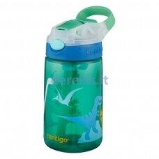 Vaikiška gertuvė Contigo Gizmo Green Dino, 2115035, 420 ml