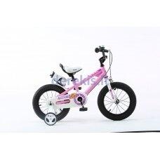 """Vaikiškas dviratis Royalbaby Freestyle RB12B-6 2019, rožinis, 12"""""""
