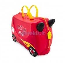 Vaikiškas lagaminas TRUNKI ROCCO THE RACE CAR