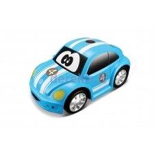 Valdomas automobilis BB Junior Volkswagen Easy Play, mėlynas, 16-92007