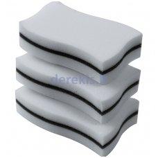 Valymo kempinėlių komplektas skirtas granitinių plautuvių valymui FRANKE 112.0304.193, 3 vnt.