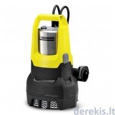 Vandens siurblys Karcher SP 7 Dirt Inox, 1.645-506.0