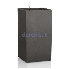 Vazonas su savaiminio drėkinimo sistema LECHUZA Canto Color Colums 40 black, 13622