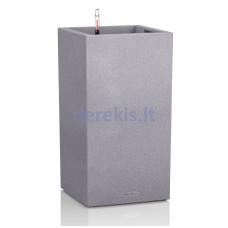 Vazonas su savaiminio drėkinimo sistema LECHUZA Canto Color Colums 40 gray, 13620