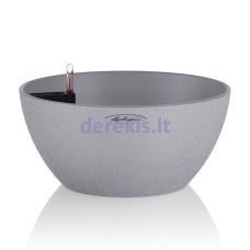 Vazonas su savaiminio drėkinimo sistema LECHUZA Cubeto Color 40 stone gray, 13840