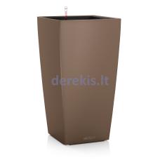 Vazonas su savaiminio drėkinimo sistema LECHUZA Cubico Color 22 Nutmeg, 13161