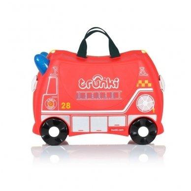 Vaikiškas lagaminas TRUNKI FRANK THE FIRE TRUCK 2