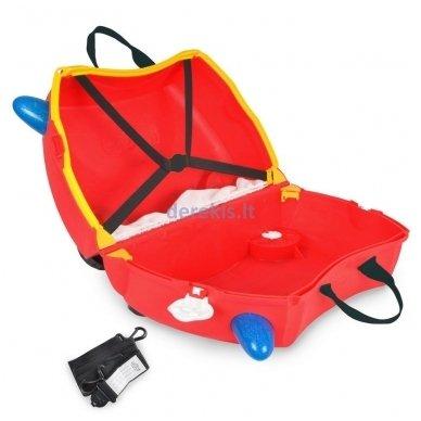 Vaikiškas lagaminas TRUNKI FRANK THE FIRE TRUCK 3