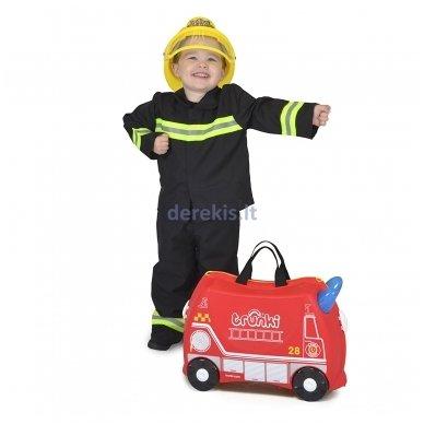Vaikiškas lagaminas TRUNKI FRANK THE FIRE TRUCK 6