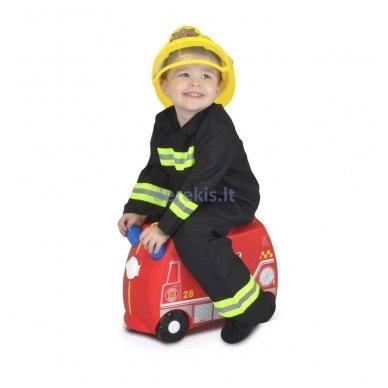 Vaikiškas lagaminas TRUNKI FRANK THE FIRE TRUCK 5