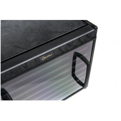 Vaisių, uogų, grybų džiovyklė Excalibur 4926TBCD Black, 600W, 9 padėklai, taimeris 4