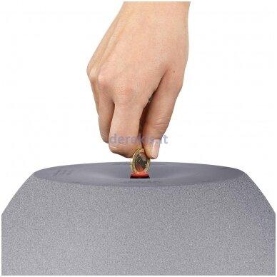 Vazonas su savaiminio drėkinimo sistema LECHUZA Cubeto Color 40 stone gray, 13840 3