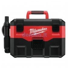 Akumuliatorinis šlapio ir sauso valymo siurblys MILWAUKEE M18 VC-0