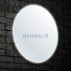 Veidrodis Blu MERIDA Round su LED apšvietimu, 100cm, BDV030101000100