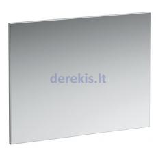 Veidrodis su aliuminio rėmu Laufen Frame 25, 1000 x 700 mm, be apšvietimo, 4474069001441