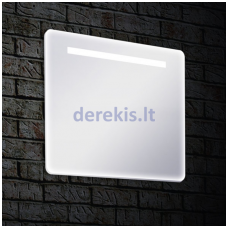 Veidrodis su LED apšvietimu Blu Arte