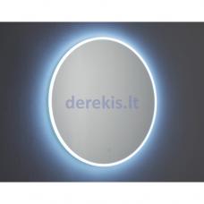 Veidrodis su LED apšvietimu Vanita & Casa Eclisse BT 0080 646 S, d=800 mm