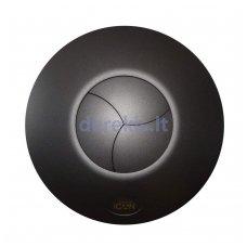 Ventiliatoriaus dangtelis Airflow ICon15, juodas