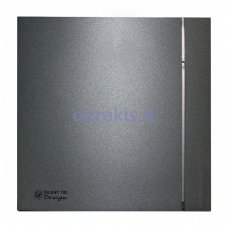 Ventiliatorius SOLER&PALAU SILENT-100 CZ GREY DESIGN - 4C, 5210607300