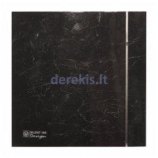 Ventiliatorius SOLER&PALAU SILENT-100 CZ MARBLE BLACK DE SIGN - 4C, 5210611900