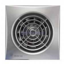 Ventiliatorius su laikmačiu SOLER&PALAU SILENT-200 CRZ SILVER, 5210320700