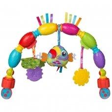 Vežimėlio žaislas Playgro Toucan Musical Play Arch, 0186985