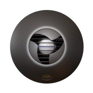 Ventiliatoriaus dangtelis Airflow ICon15, juodas 2