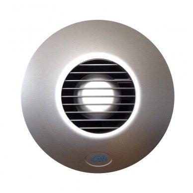 Ventiliatoriaus dangtelis Airflow ICon15, sidabrinis 3