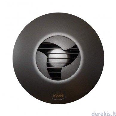 Ventiliatoriaus dangtelis Airflow ICon30, juodas 2