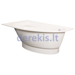 Vonia PAA TRE GRANDE 1700 x 1000 mm (spalvą galima pasirinkti)