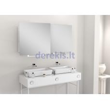 Vonios kambario veidrodis Luk Miior, 80 x 60cm, (atitraukiamas)