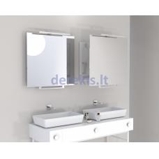 Vonios kambario veidrodis Miior Top 80 x 60cm, (atitraukiamas)
