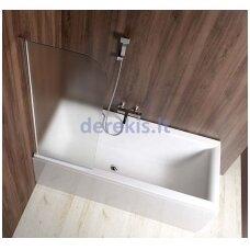 Vonios sienelė Aqualine VILMA AQ6018L kairinė