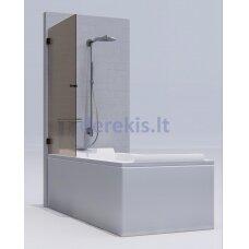 Vonios sienelė KAME Rudas / chromas / 1731L