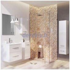 Vonios spintelė su praustuvu Mensa, BLU LUNA 600, BOLUSDN60D1 + 612127061100