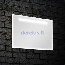 Vonios veidrodis su LED apšvietimu Blu BURGOS, 100x65cm, BDV021106500100